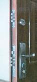 Acél biztonsági bejárati ajtó